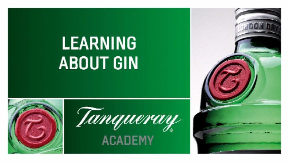 Video Graphics  - Tanqueray for Diageo.  .