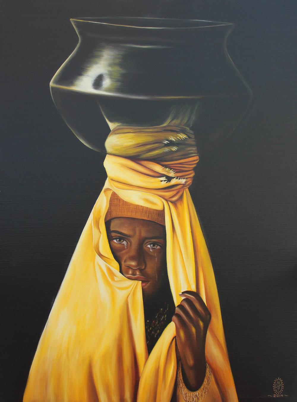 Yellow Dupatta