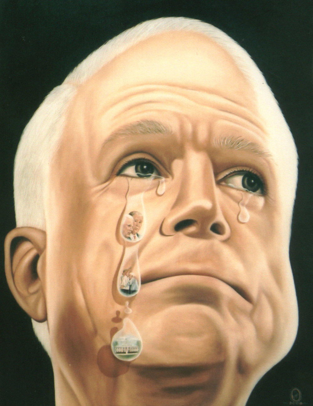 Political Tears McCain