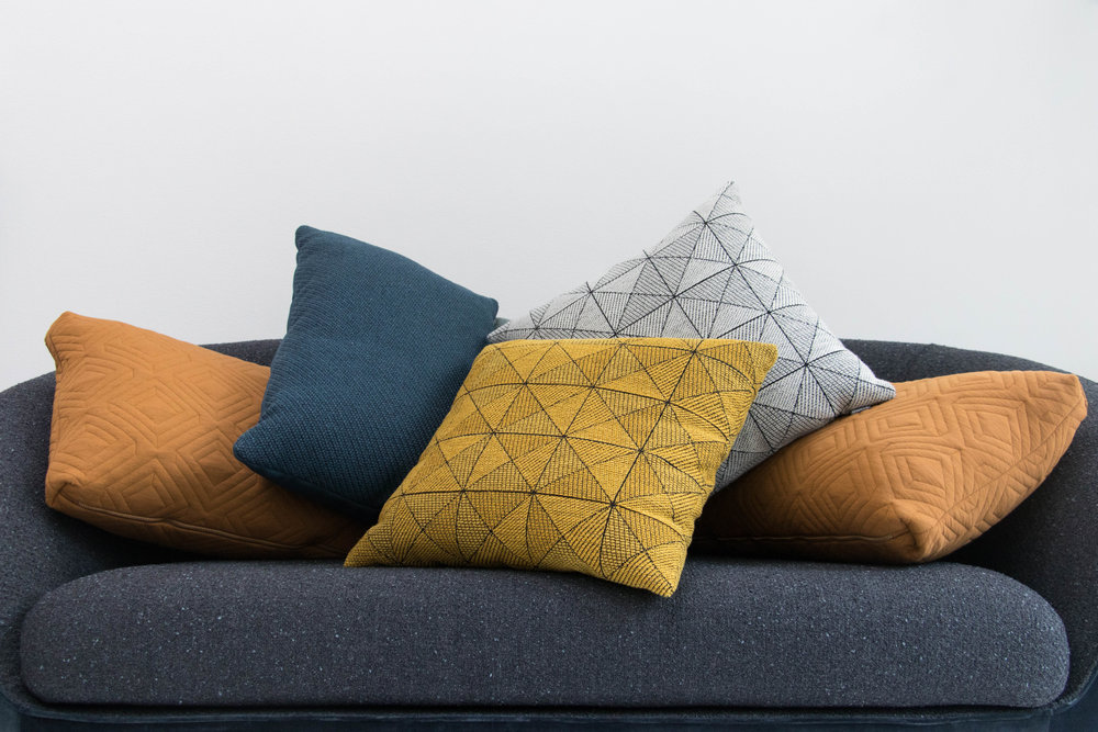 cushions, throws and baskets - SAVE 10% OFF in all our textile collection