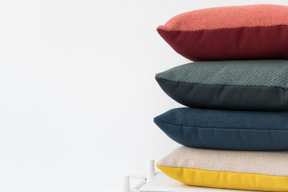 A pretty cushion -                           makes a pretty space