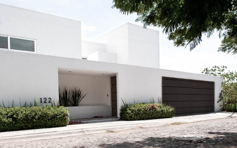 - On one of the nicest parts of Querétaro city we designed and built this single family home for a young family.The house was designed with large open spaces that are connected to the exterior giving it the flexibility of transforming indoor space into outdoor and vice-versa.