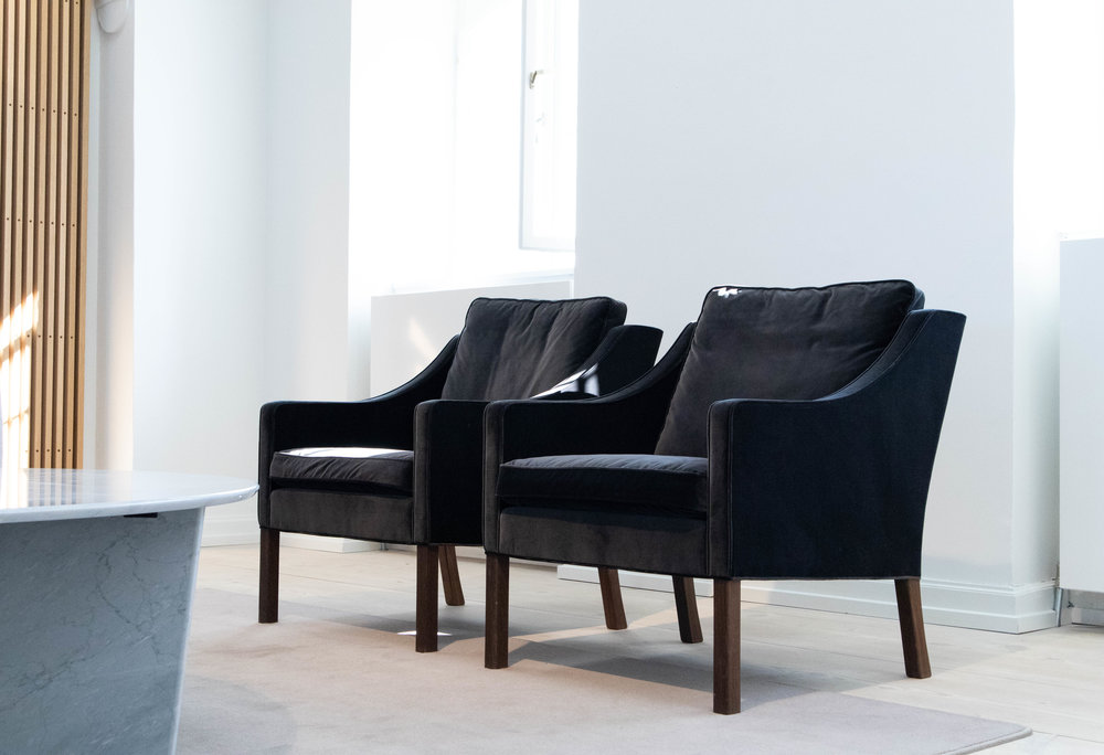 Mogensen 2207 Chairs - Finest in quality and completely unique in their beauty as they age.