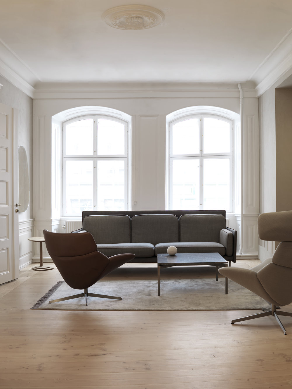 Erik Jørgensen showrrom copenhagen, interiors, scandinavian design, living room, modern furniture 2.jpg