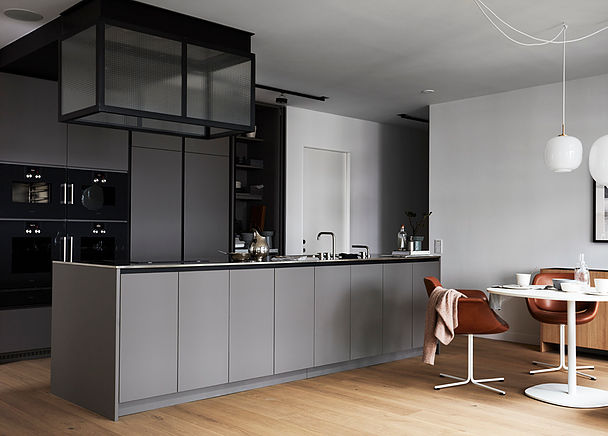 - The apartment was designed by Andreas Martin-Löf, who also designed the kitchen.