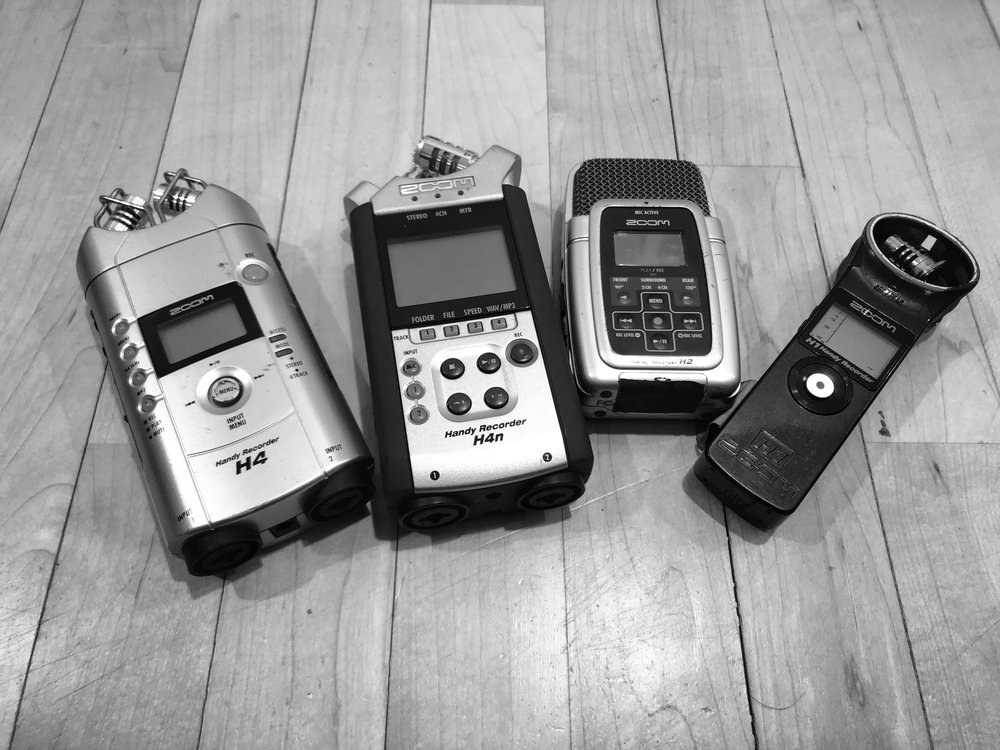 Zoom Recorders I've known and loved.