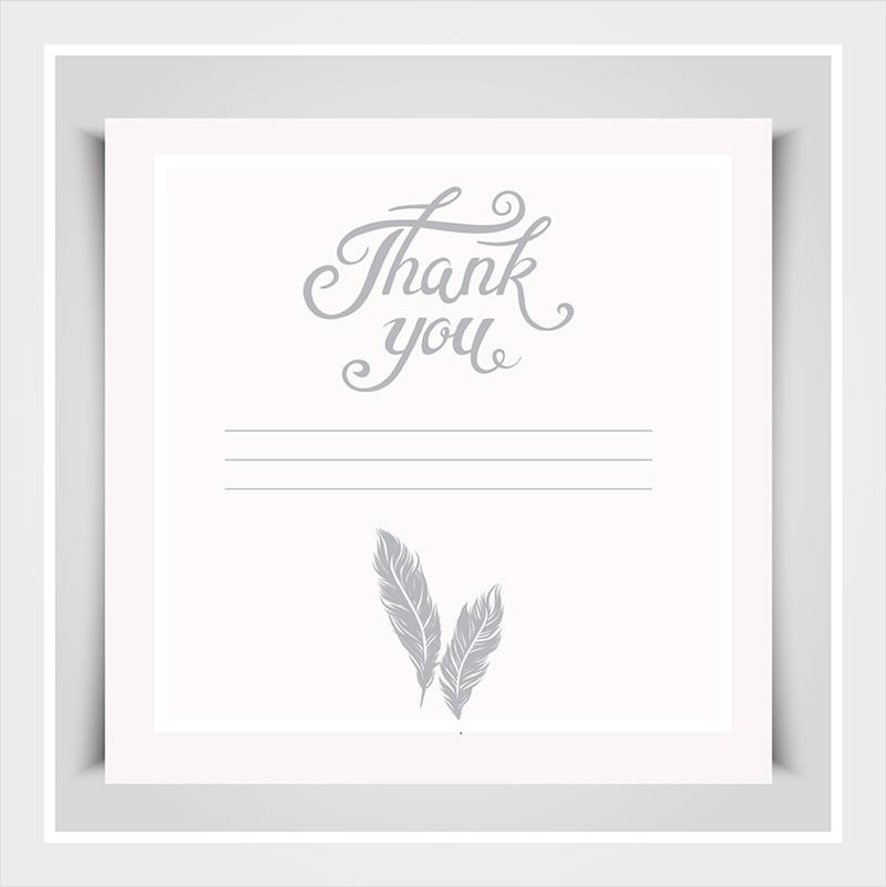5 Short Engagement Wedding Gift Thank You Note Templates Petal