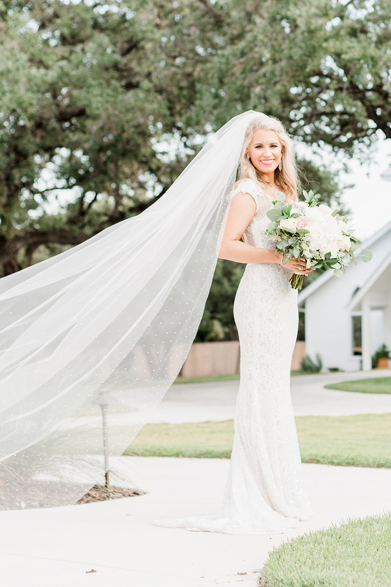 Classic Wedding Veil Lengths And Styles