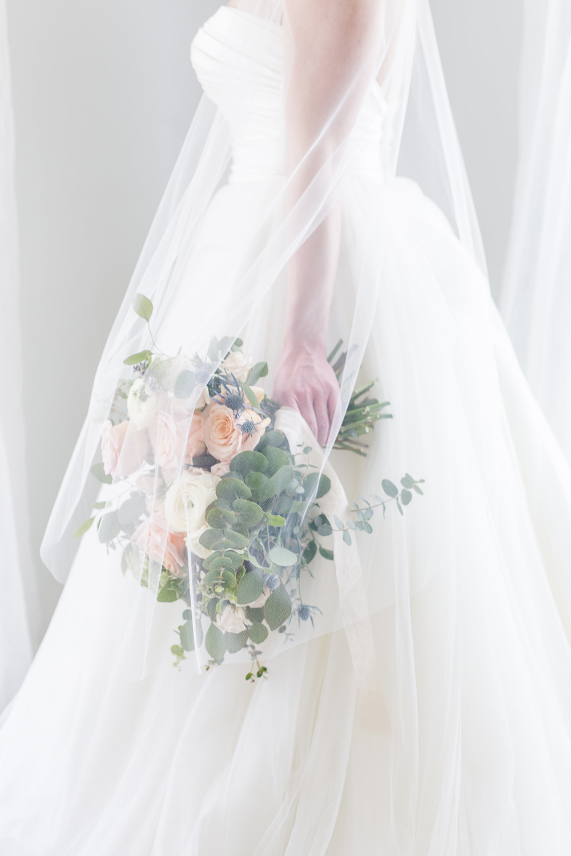 Ballet or Waltz Medium Length Veil | Petal & Veil
