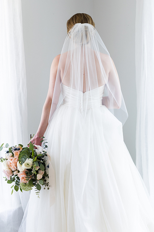 Caroline | Weightless Fingertip Veil from our Classic Collection, $95