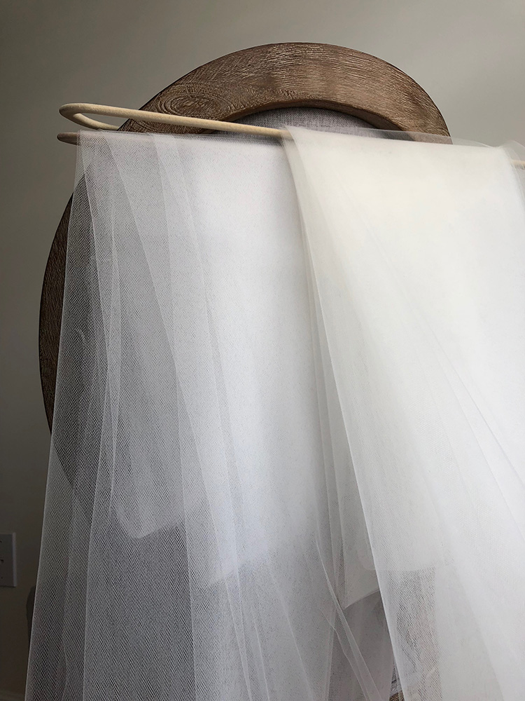 Ivory and Soft White Tulle Colors