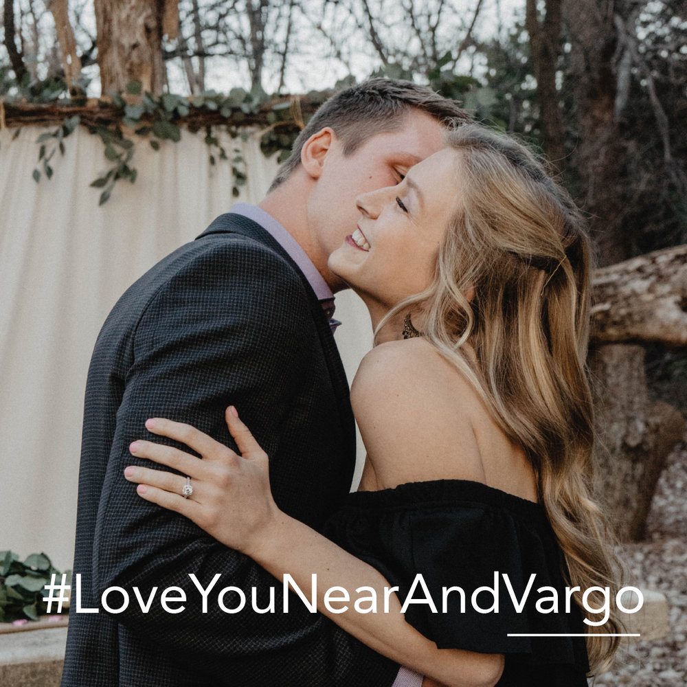 Customized last name wedding hashtags | Petal & Veil