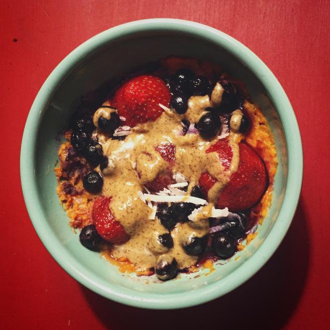 Whole 30 Sweet Potato Bowl -