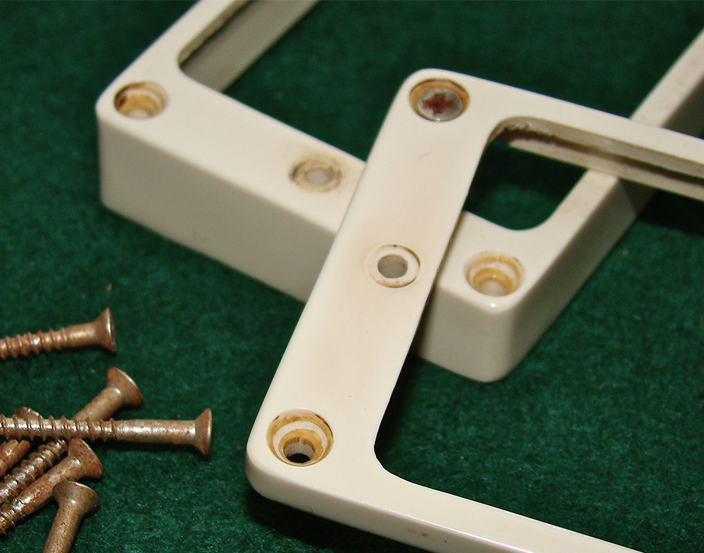 Each set come with period correct mounting screws
