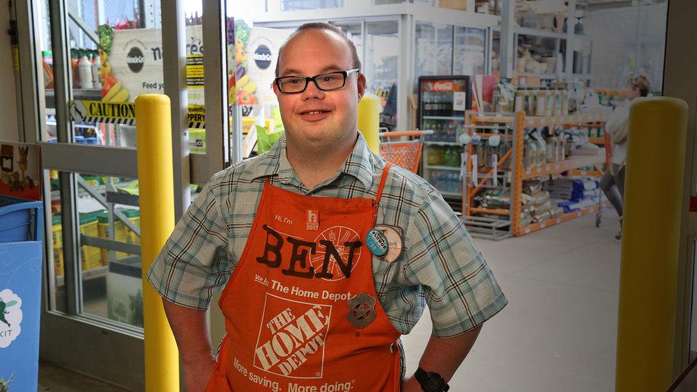 Ben at Home Depot