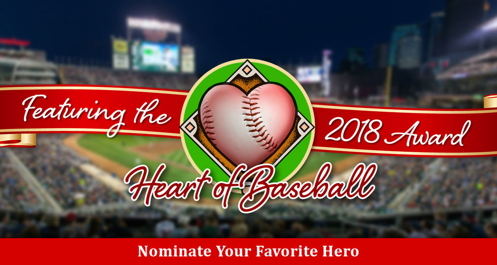 Nita Killebrew will be presenting this Special Award at the game. Click to learn how to nominate your favorite hero.