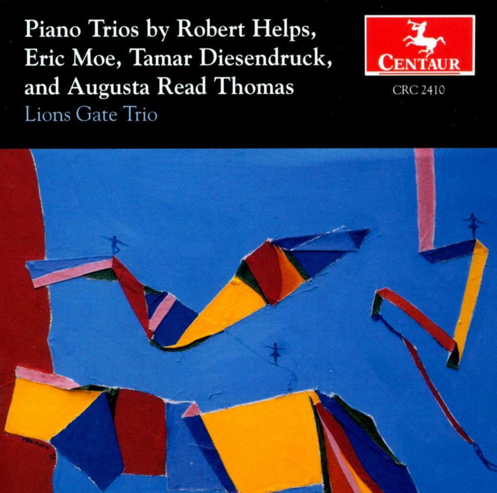 Piano Trios by Helps, Moe, Diesendruck, and Thomas