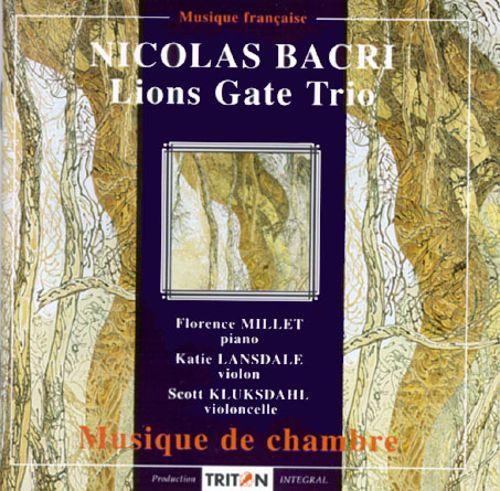 Nicolas Bacri: Musique de Chambre