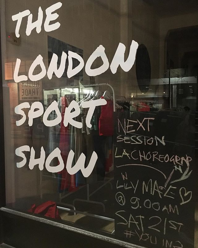 Y O U  I N? We're ready for you 9am... Question is, are you ready for @lilymaemcgregor. . See you bright and early LA choreography crew!! X #tlss #thelondonsportshow #lachoreography #dance