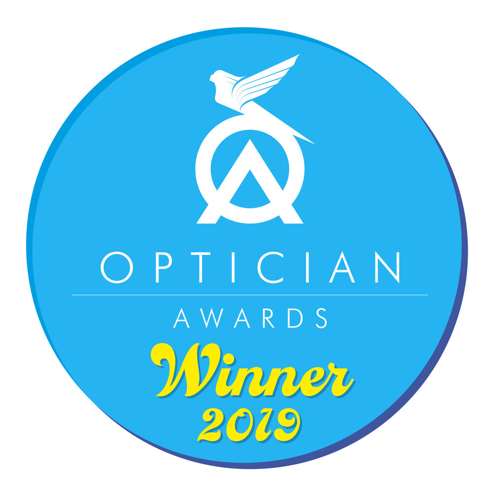 Winners of Optometrist of the year and Contact lens practitioner of the year 2019.