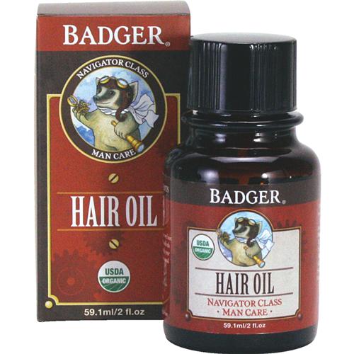 Badger  Men's Hair Oil, 2 oz. $18.00