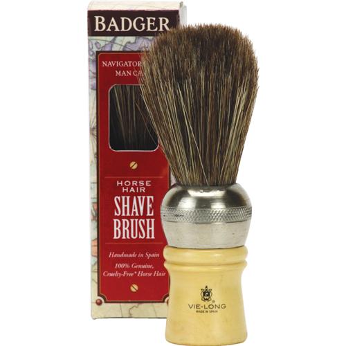 Badger  Horse Hair Shave Brush, $30.00