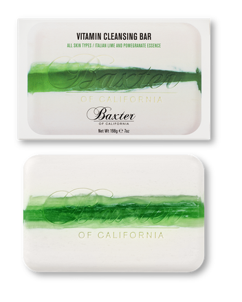 Baxter of California  Vitamin Cleansing Bar, Italian Lime & Pomegranate, $17.00