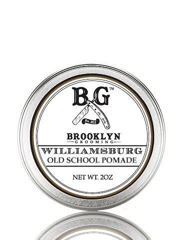 Brooklyn Grooming  Williamsburg Old School Pomade, 2 oz., $26.00