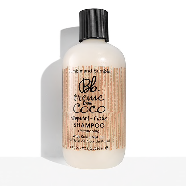Bumble and bumble.  Creme de Coco Shampoo, 8.5 oz. $26.00
