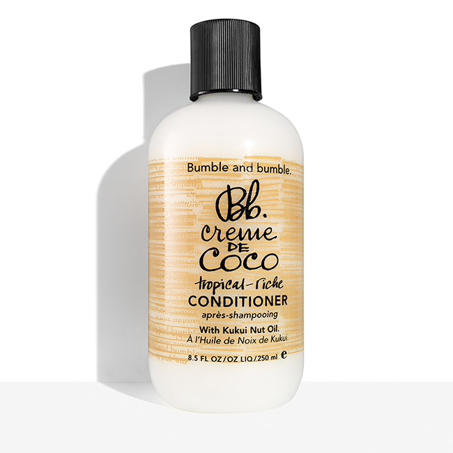Bumble and bumble.  Creme de Coco Conditioner, 8.5 oz. $28.00