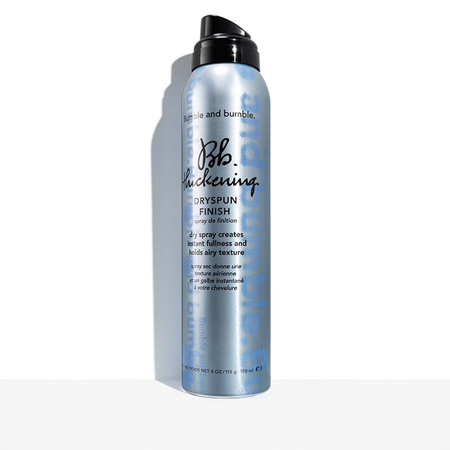 Bumble and bumble.  Bb. Thickening Dryspun Finish, 4 oz. $31.00