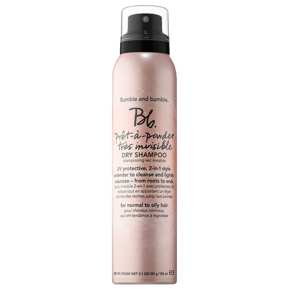 Bumble and bumble.  Prêt-à-powder Très Invisible Dry Shampoo, 3.1 oz. $29.00