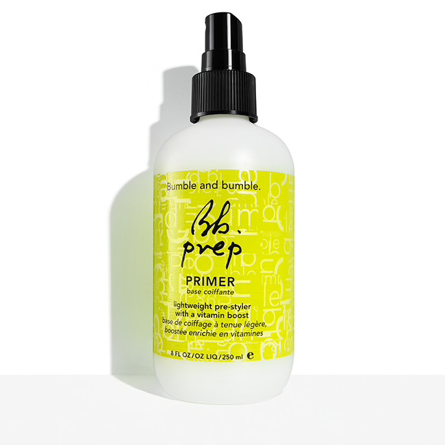 Bumble and bumble.  Prep Primer, 8.5 oz. $25.00