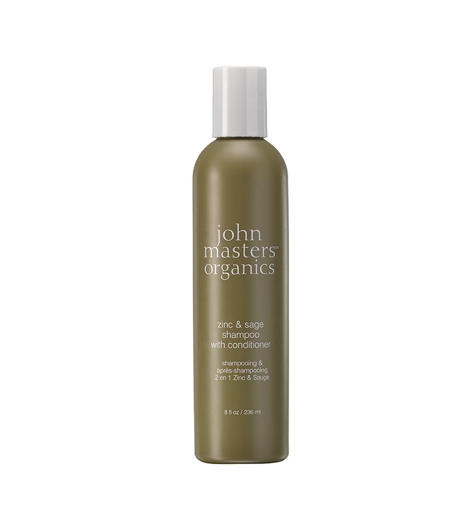 John Masters Organics  Zinc & Sage Shampoo With Conditioner, 8 oz. $20.00
