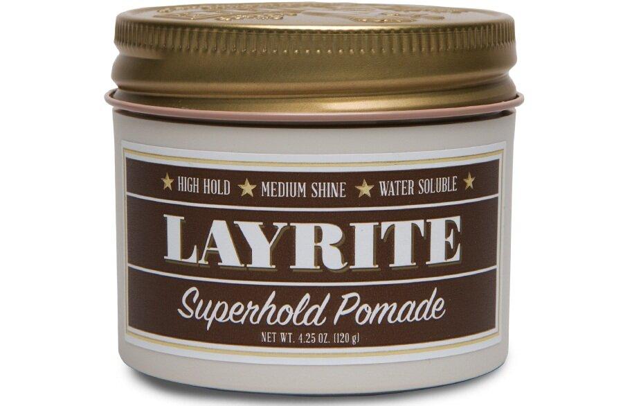 Layrite  Superhold Pomade, 4.25 oz. $18.00