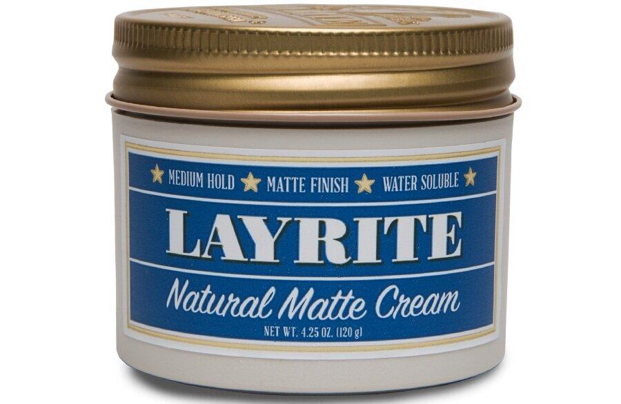 Layrite  atural Matte Cream, 4.25 oz. $18.00
