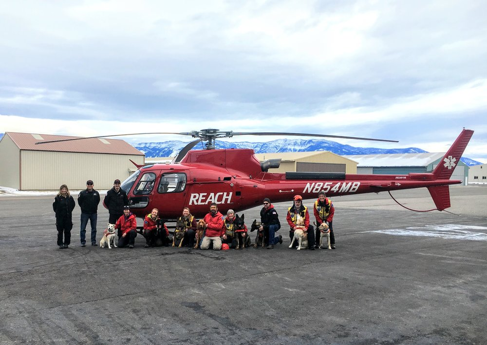 WMSD teams and the REACH Air Medical Crew