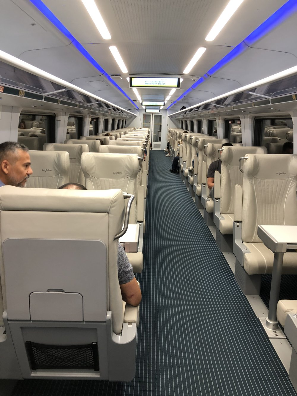 Select cabins offer one-abreat seating. Especially great for those traveling alone.