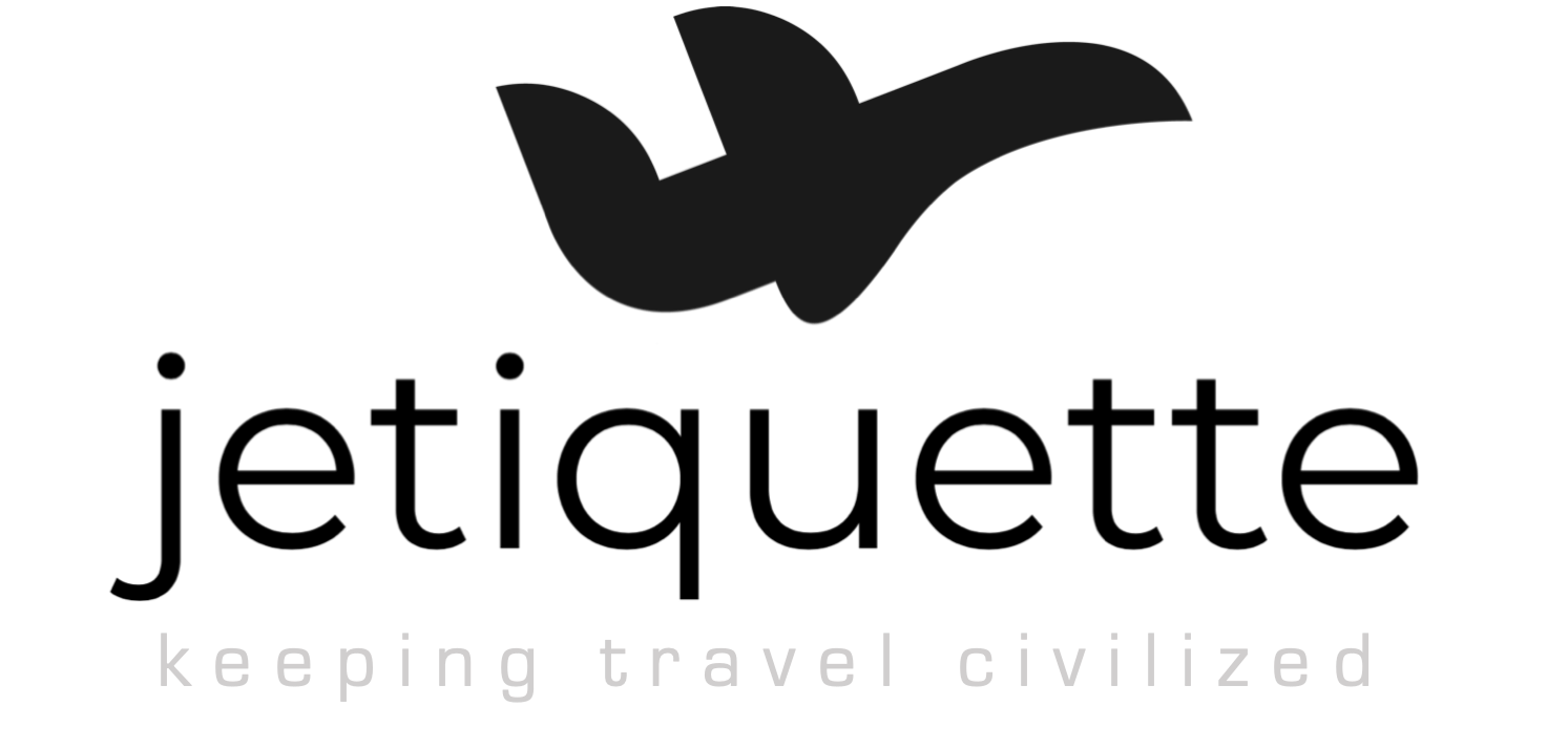 jetiquette: keeping travel civilized
