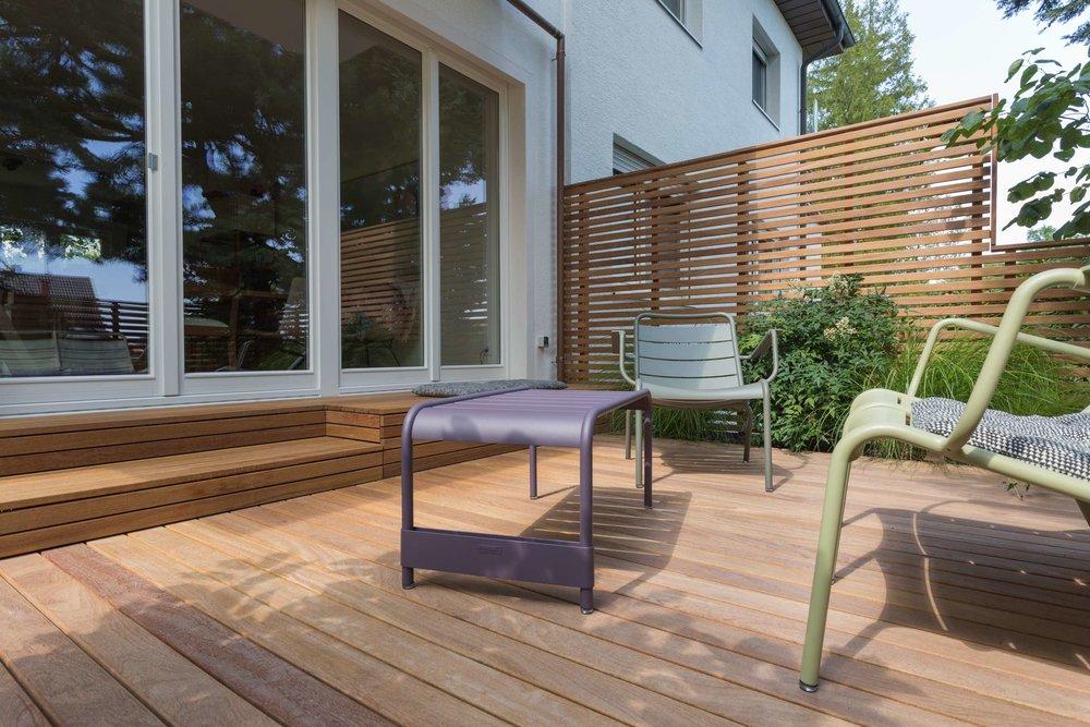 cumaru wohnhaus stuttgart terrassen aus holz von holz und design simon alber. Black Bedroom Furniture Sets. Home Design Ideas
