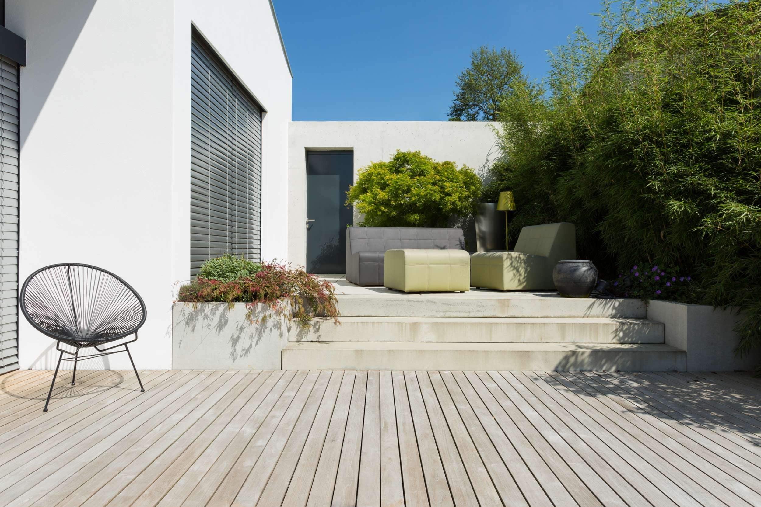 Teakholz terrasse  Terrassen aus Teak Holz — Terrassen aus Holz von Holz und Design ...