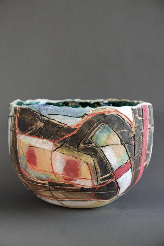 Multi-colored Bowl
