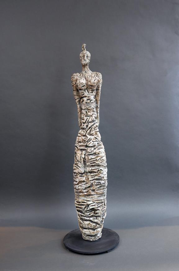 Mesopotamian Woman - White