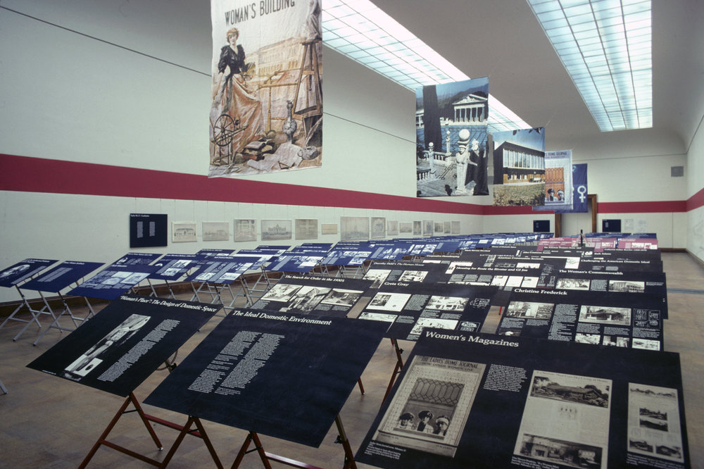 Installation view of  Women in American Architecture: A Historic and Contemporary Perspective , Brooklyn Museum, 1977. Photo: Norman McGrath. Courtesy of Susana Torre.