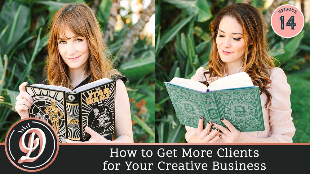 How to get more clients for your creative business