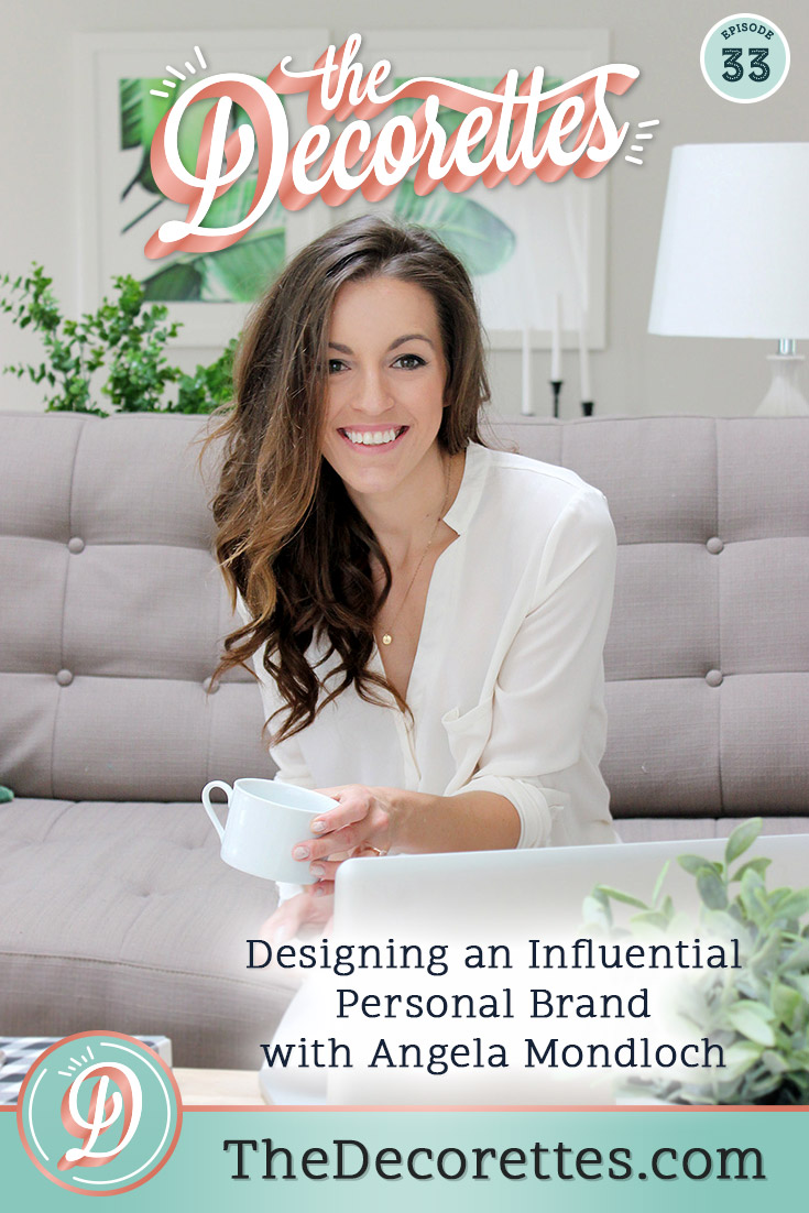 Designing an influential personal brand isn't always an easy feat, especially in a world full of influencers (or people who think they're influencers!) but it can be done! We're chatting with Angela Mondloch, the creator behind Saffron Avenue, about how she's built an infuencial brand that is not only profitable but built around her life and passions.