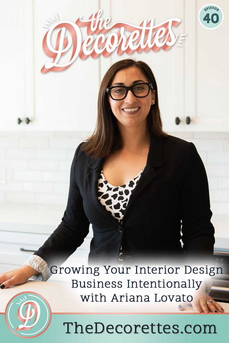 Running an interior design business isn't easy! The ups and downs are real, so we're getting real with fellow designer Ariana Lovato, the CEO of Honeycomb Home Design, about how she's gotten through the rough patches and grown a successful local interior design studio and Etsy shop. The secret? She did it intentionally by leaning into her strengths and ignoring the temptation to try to do all the marketing strategies that are out there and focusing on what would work best for the type of life she wants to live.