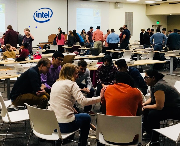 Over 200 Intel employees are preparing to bring the Pop Fly Engineering Challenge to 4th grade classrooms in Hillsboro during National Engineers Month.