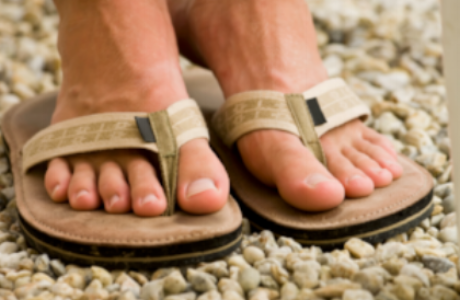 Wear sandals again without any embarrassment.