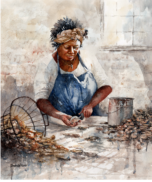 An Oyster Worker